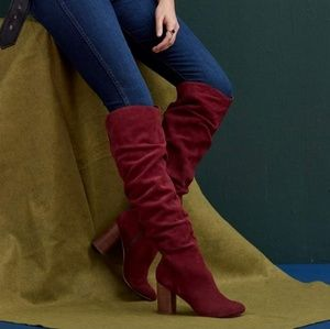 Sole Society Red Suede boots